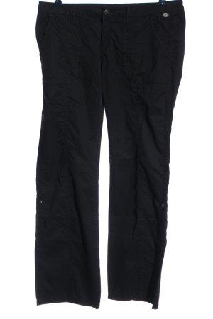 edc Pantalon taille basse noir style décontracté