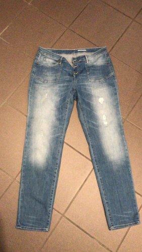 edc by Esprit Boyfriend Jeans azure-light grey