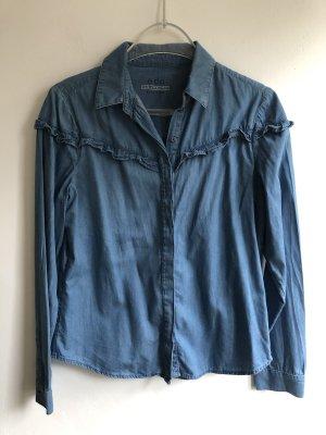 edc by Esprit Blouse en jean bleuet coton