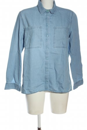 edc Denim Shirt blue casual look
