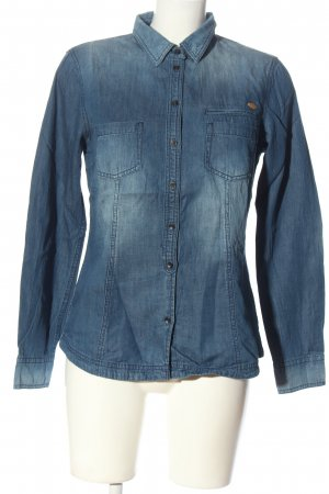 edc Denim Shirt blue elegant