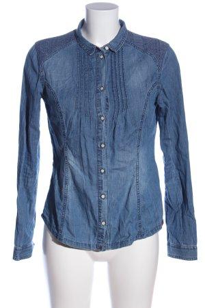 edc Jeanshemd blau Casual-Look