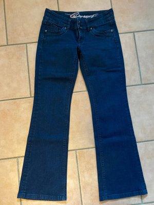 Edc Esprit Jeans bootcut bleu foncé