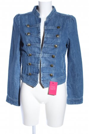 edc Jeansjacke blau Business-Look