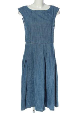 edc Robe en jean bleu style décontracté