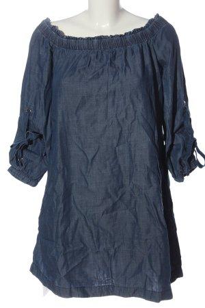 edc Jeansowa sukienka niebieski W stylu casual