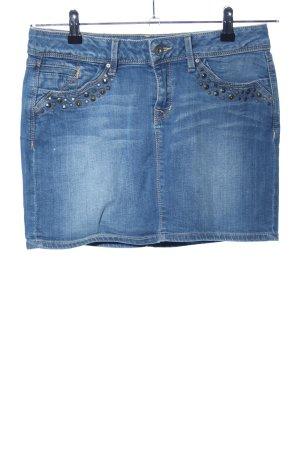 edc Gonna di jeans blu stile casual