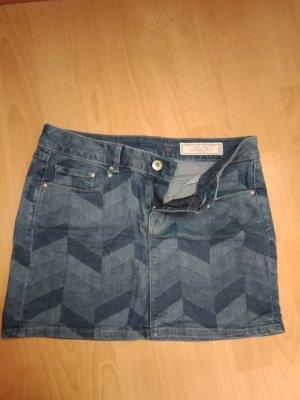 edc by Esprit Gonna di jeans blu acciaio