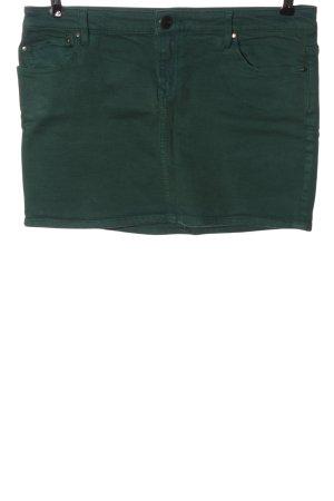 edc Jeansrock grün Casual-Look