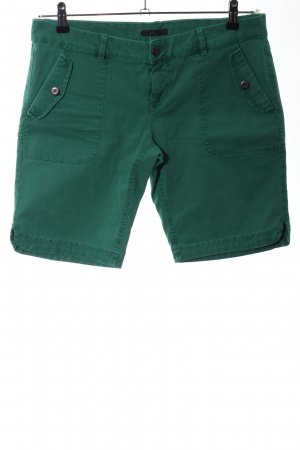 edc Denim Shorts green casual look