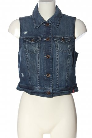 edc Smanicato jeans blu stile casual