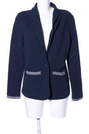 edc Jerseyblazer blau-hellgrau Casual-Look