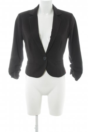 edc Jerseyblazer schwarz Business-Look