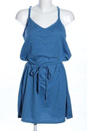 edc Jerseykleid blau meliert Casual-Look