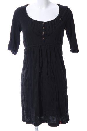 edc Jerseykleid schwarz Casual-Look