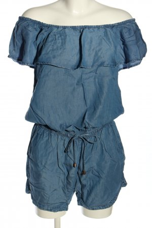 edc Jumpsuit blau Casual-Look