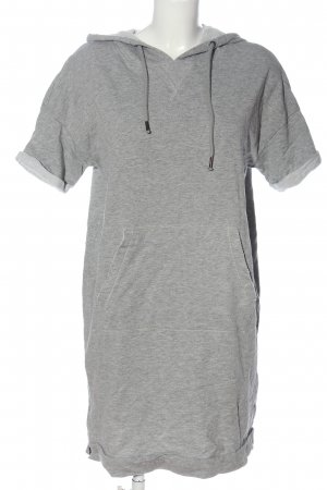 edc Hooded Dress light grey flecked casual look