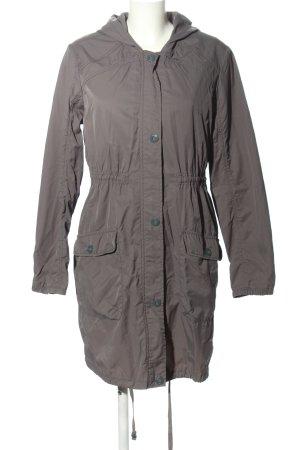 edc Hooded Coat light grey casual look