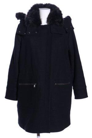 edc Hooded Coat black casual look