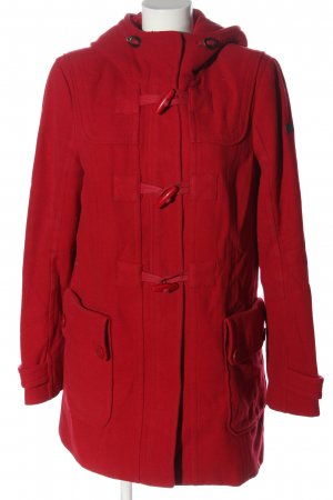 edc Hooded Coat red casual look