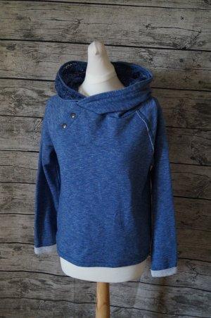 edc by Esprit Jersey con capucha azul acero