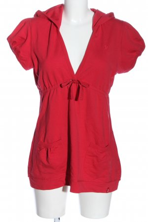 edc Hooded Shirt red casual look