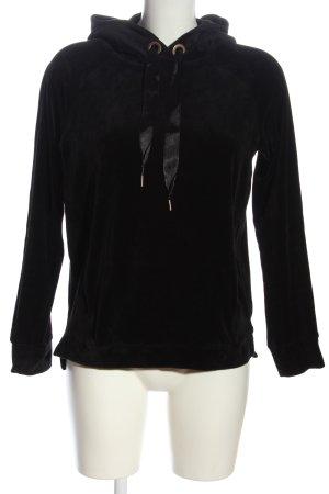 edc Hooded Sweatshirt black casual look