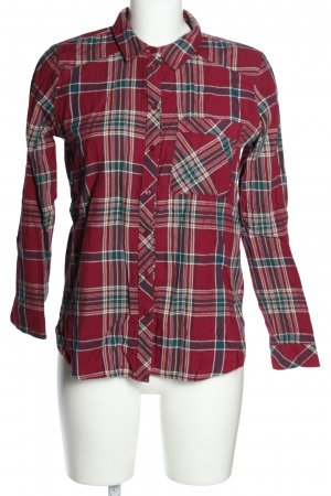 edc Geruite blouse geruite print casual uitstraling