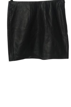 edc Jupe en cuir synthétique noir style décontracté