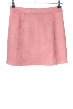 edc Kunstlederrock pink Casual-Look
