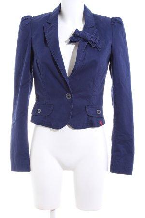 edc Kurz-Blazer blau Business-Look