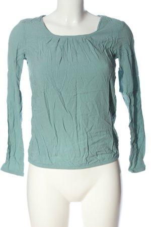 edc Kurzarm-Bluse grün Casual-Look