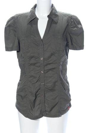 edc Short Sleeve Shirt khaki casual look