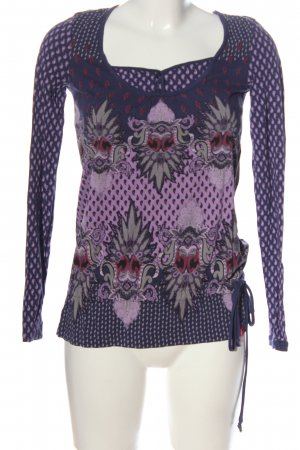 edc Langarm-Bluse Mustermix Casual-Look