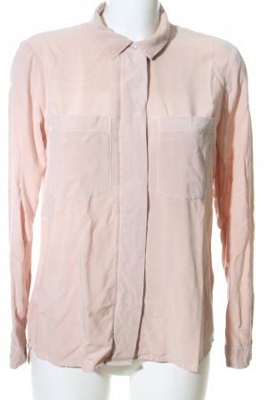 edc Langarm-Bluse creme Business-Look