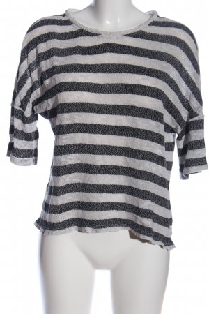 edc Knitted Sweater black-white flecked casual look