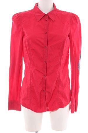 edc Langarmhemd rot Street-Fashion-Look