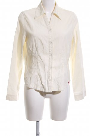 edc Long Sleeve Shirt cream business style