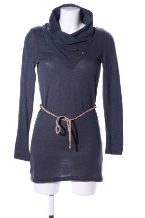 edc Langarmkleid blau Casual-Look