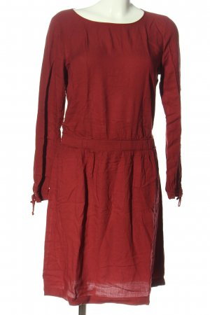 edc Langarmkleid rot Casual-Look
