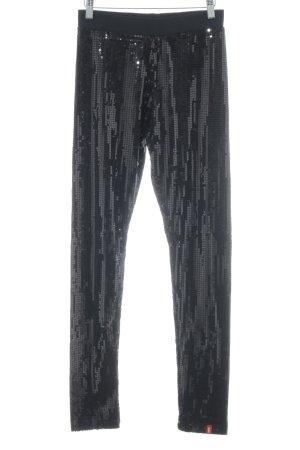 edc Leggings schwarz extravaganter Stil