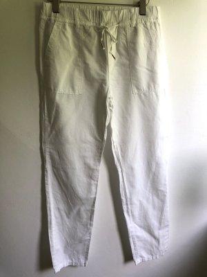 edc by Esprit Pantalon en lin blanc
