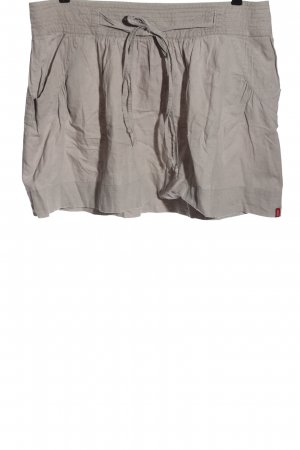 edc Linen Skirt light grey casual look