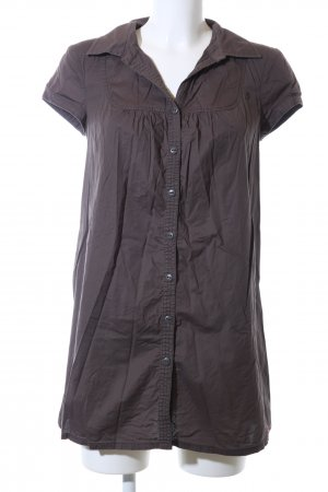 edc Long-Bluse braun Casual-Look