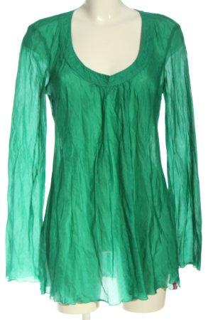 edc Long-Bluse grün Elegant