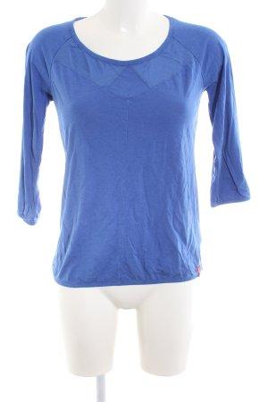 edc Longsleeve blau Casual-Look