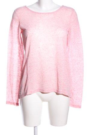 edc Longsleeve pink meliert Casual-Look