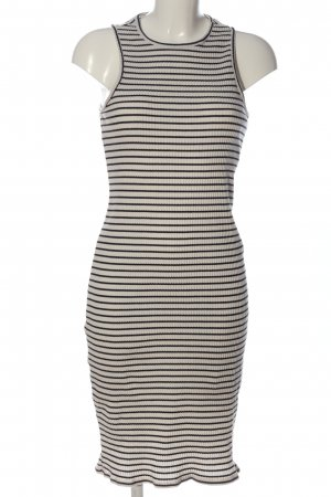edc Tube Dress light grey-black striped pattern casual look