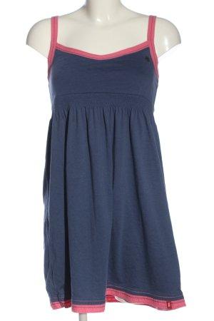 edc Minikleid pink-blau Casual-Look