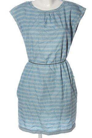 edc Minikleid blau Streifenmuster Casual-Look